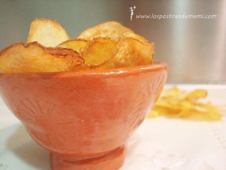 ¿Nunca os habéis preguntado cómo se podrían hacer esas patatas chips que tanto nos gustan y que tanto engordan? Yo sí, y quería saber si había alguna