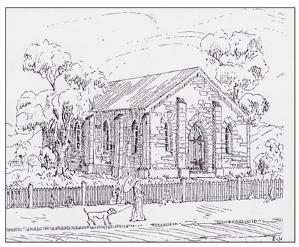 By July 1837 the Wesleyans had leased land in Hindley Street Adelaide where they quickly erected the first solid stone construction church in the Colony