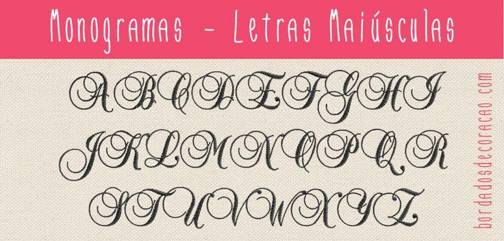 matrizes de bordado gr u00e1tis alphabet a z