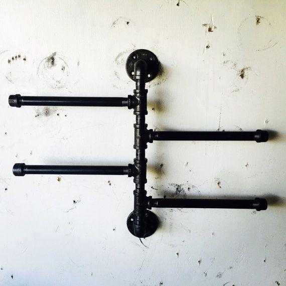 Swivel Industrial Towl Rack / Tie Rack / by CoronaConceptsCo
