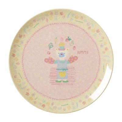 "Harriet Bee Alta Kids 8"" Pink Dinner Plate"