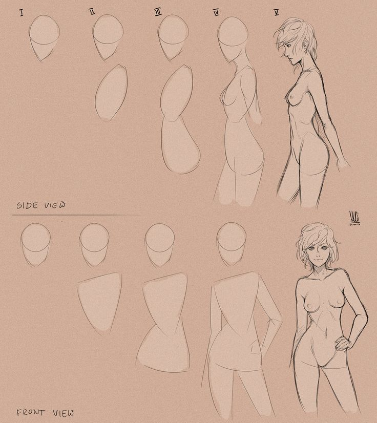 Body step_by_step. by mkw-no-ossan -                                         How to Art