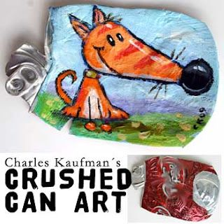 Recycled art!