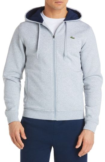c37a0bacd5265 LACOSTE FLEECE ZIP HOODIE.  lacoste  cloth