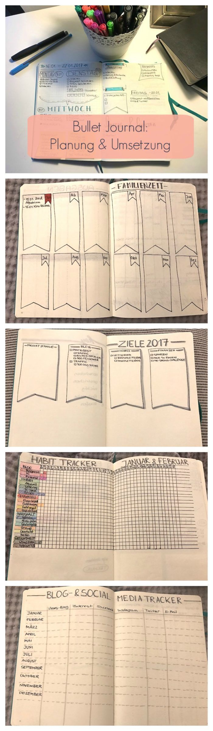 Bullet Journal – Planung & Umsetzung für Anfänger