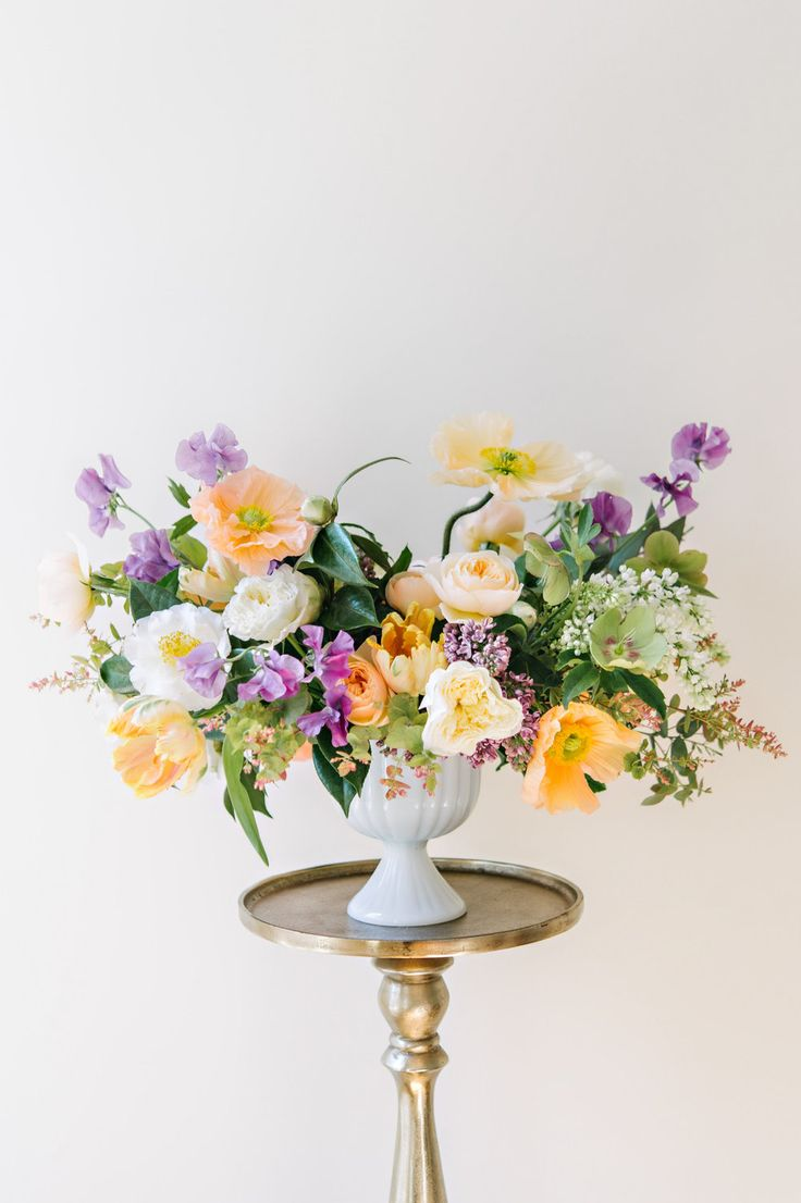 Best 25 spring flower arrangements ideas on pinterest floral we love it when our brides want to mix unusual colors together we think this a great spring palette for a utah wedding dhlflorist Images