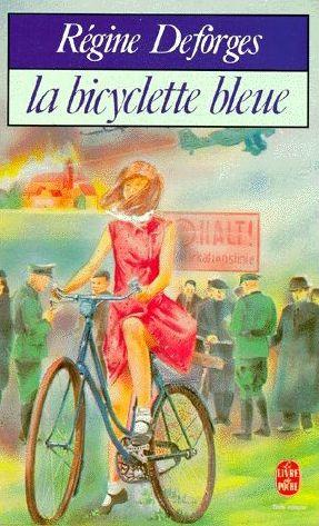 La bicyclette bleue de Régine DEFORGES - Premier tome d'une longue série. on plonge dans la deuxième guerre mondiale en lisant l'histoire de Léa Delmas j'ai beaucoup aimé - ++++