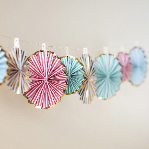 Mini Pinwheel Decorations by Beau-coup