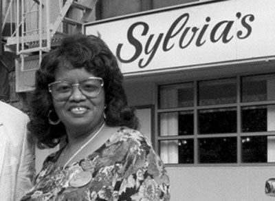 Legendary Harlem chef, Sylvia Woods    14 years in NY and still never been - such a shame