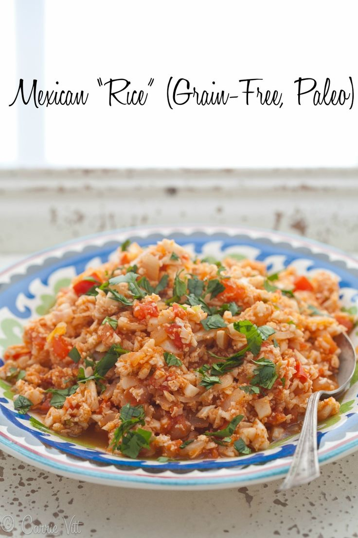 Mexican Rice (Grain-Free, Paleo) FoodBlogs.com