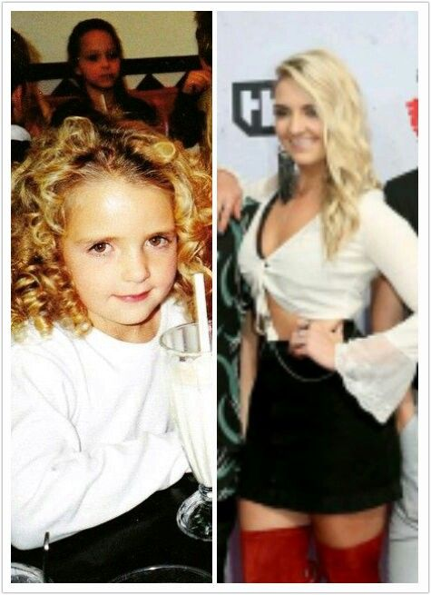 Rydel then & now