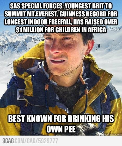 "Edward Michael ""Bear"" Grylls. An English adventurer, writer and television presenter. He"