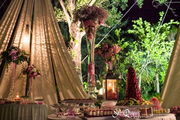 #Flores // #Flowers | Goyo #Catering (2014) #Wedding #Manilva #Boda #Buffet #Desserts Wedding Planner: @siquiero