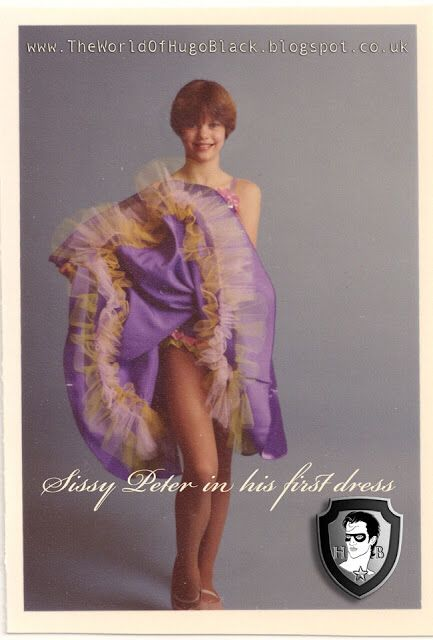 Sissy in the first dress: