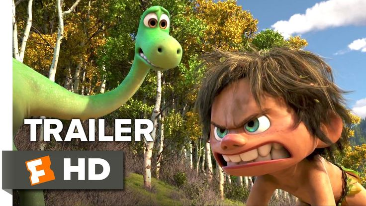 The Good Dinosaur Official Trailer #2 (2015) - Raymond Ochoa, Jeffrey Wr...