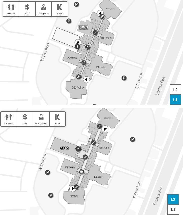 Deerbrook Mall Map Deerbrook Mall shopping plan | Mall maps | Mall, Shopping mall, Store