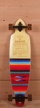 """Arbor 38"""" Mindstate Flagship Series Drop Through Longboard Complete"""