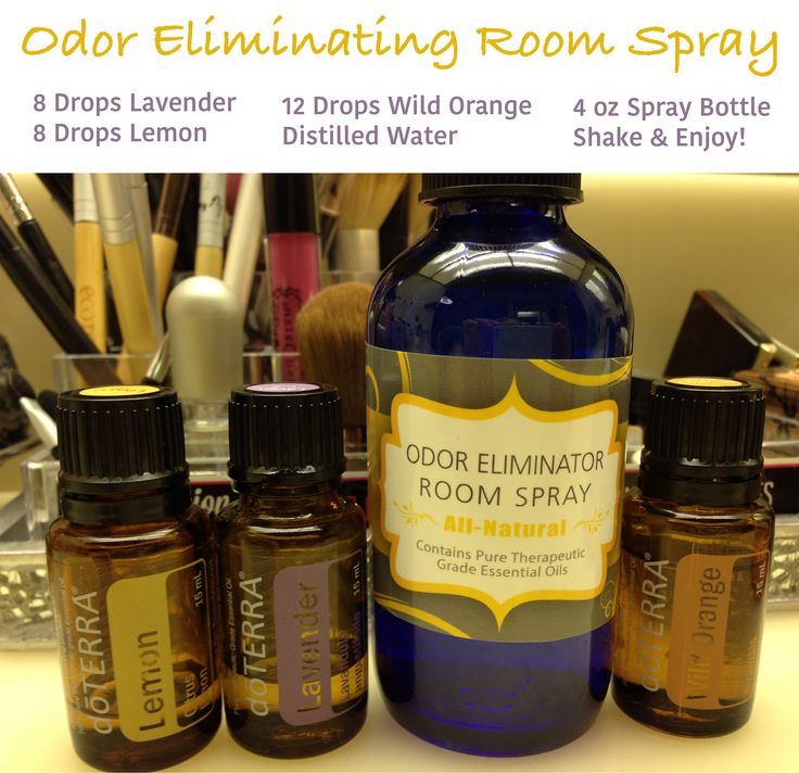 Diy Room Odor Eliminator With Doterra Essential Oils Great For The Bathroom Office Or Car