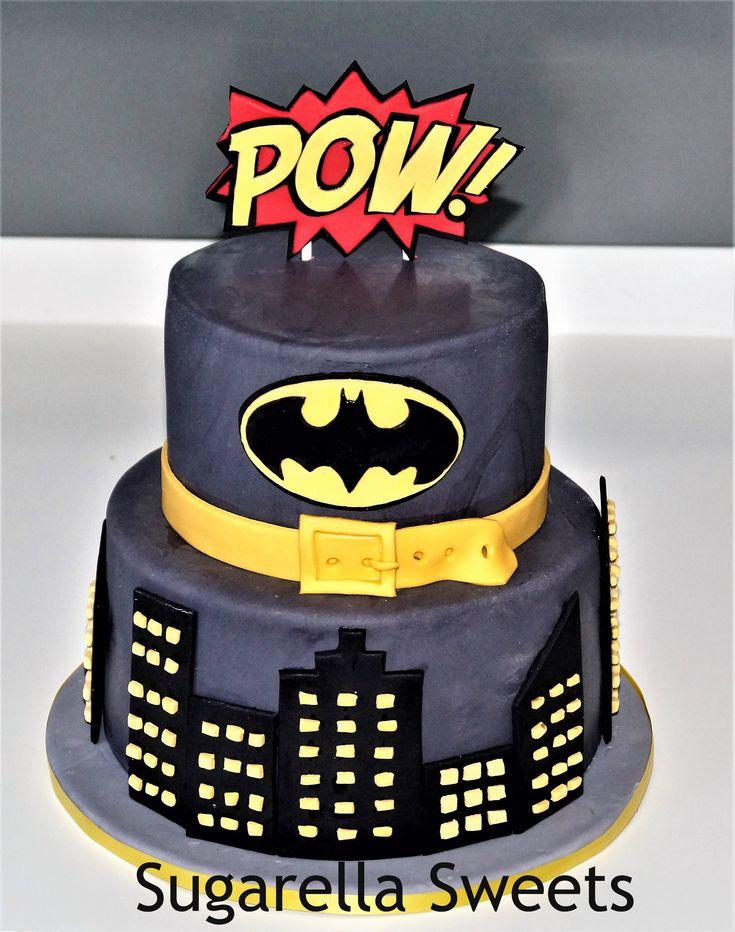 Batman Cake Made By Liliana Da Silva From Sugarella Sweets