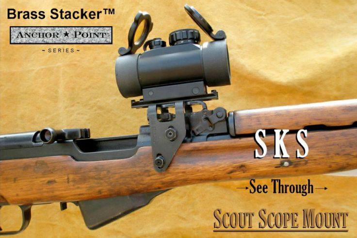 Just added SKS See Thru Scout Scope Mount by Brass Stacker http://www.mountsplus.com/AR-15_Accessories/AR-15_Scope_Rings/151-TGR-SKS-SSMC.html … & Save 10% Discount Code MSPIN