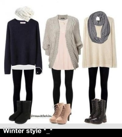 Winter Style ❄⛄oversized sweaters