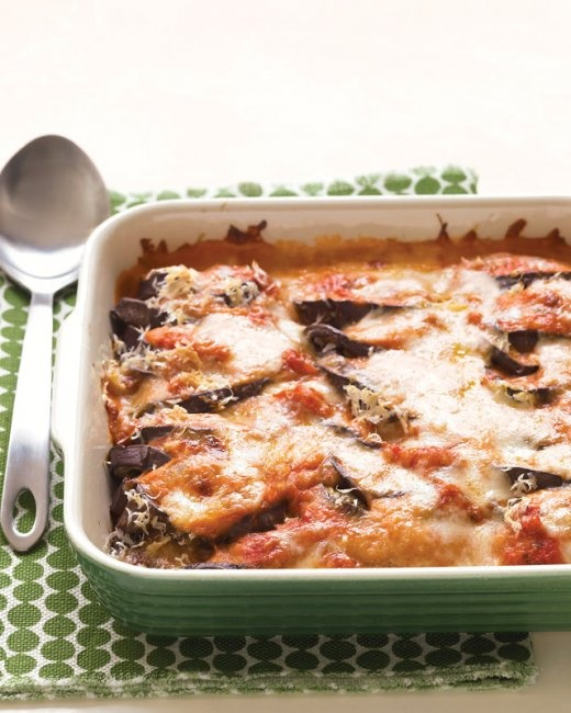 Lighter Eggplant Parmesan - Martha Stewart Recipes
