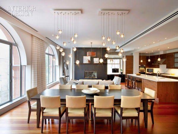 Beautiful interior apartment design in New York
