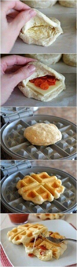 Hartige wafel