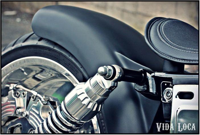 Dyna Harley Designed by Vida Loca Choppers in 2009