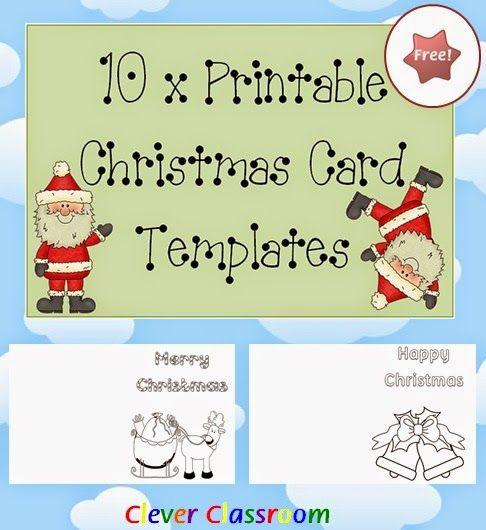 Best  Free Christmas Card Templates Ideas On