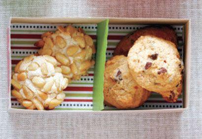 Biscuits à la pomme et aux brisures de chocolat