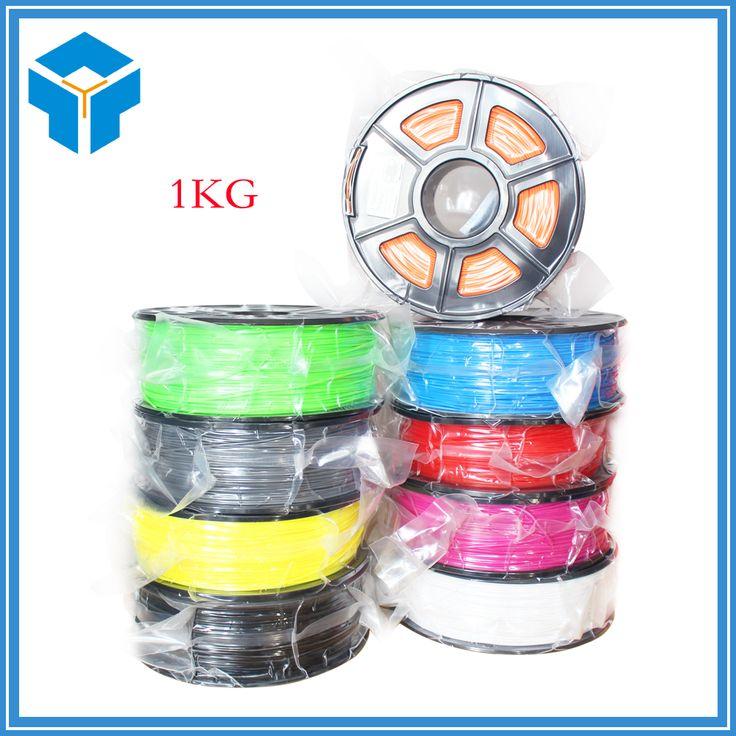 obtener mejor precio Plástico ABS 3D Suministros Filamento para RepRap 3D Impresora 1 kg 1.75 MM filamento ABS 3d filamento filamento 1.75 impressora PLA #Plástico #Suministros #Filamento #para #RepRap #Impresora #1.75 #filamento #impressora