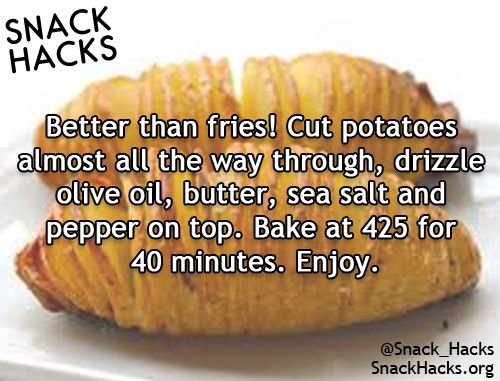 Snack Hacks.  lose the butter