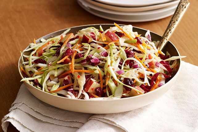 Cranberries, apples and cabbage bring the colors and flavors of fall ...