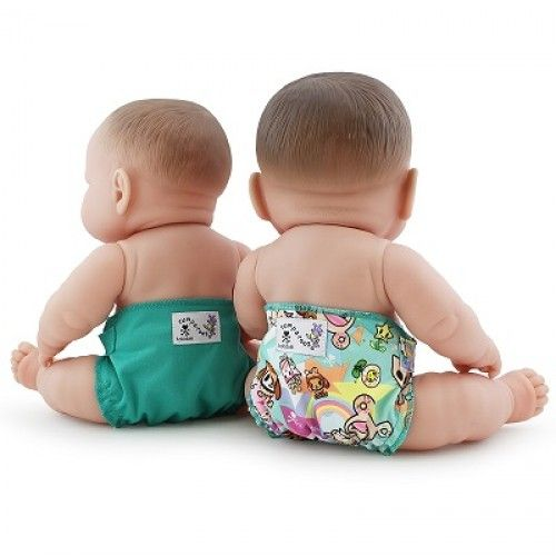 Rumparooz Doll Nappies - 2 Pack