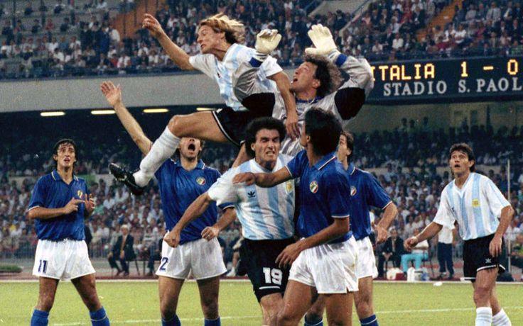Caniggia World Cup 90 Italia Argentina ❤ www.healthylivingmd.vemma.com ❤