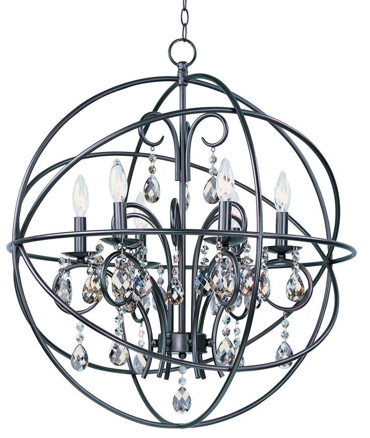 Maxim Lighting 25144OI Dining & Foyer Chandeliers - Orbit
