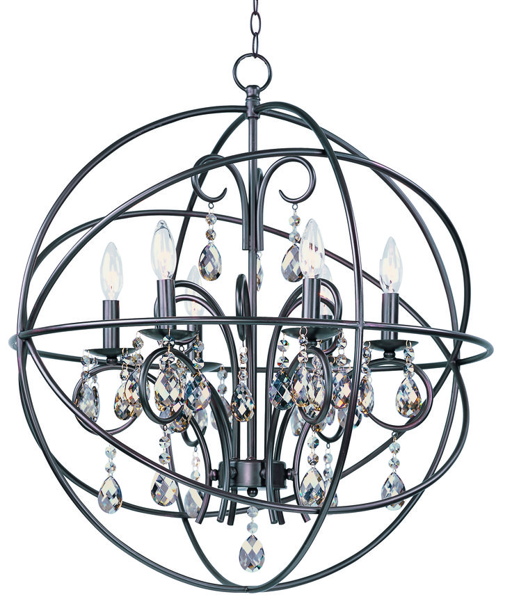 Maxim Lighting 25144OI Orbit 6-Light Pendant
