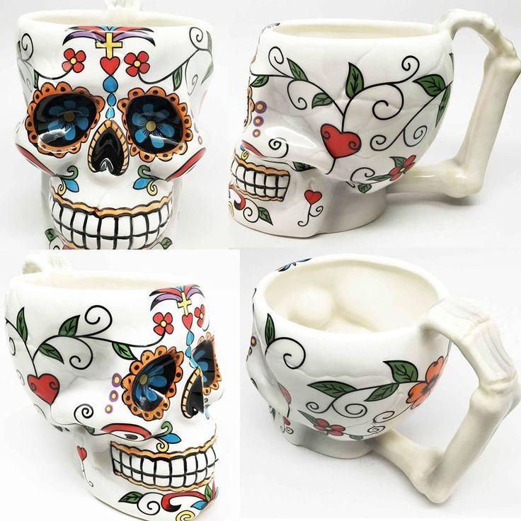 Sugar Skull Mugs