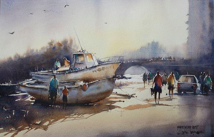 Thierry De Marichalar Biarritz - Port des pêcheurs