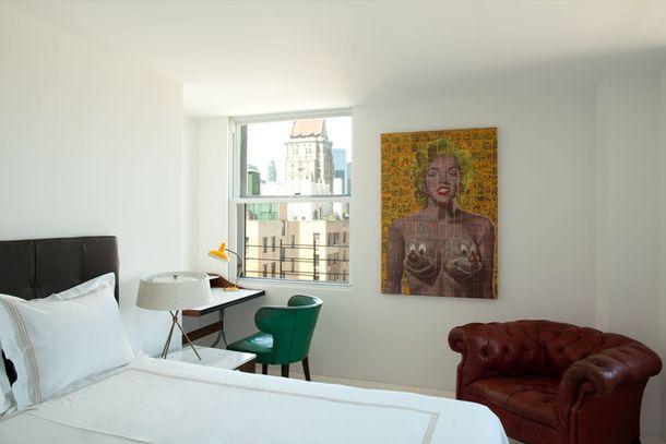 Нью-йоркская квартира в стиле ретро