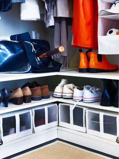 Ideas y diferentes formas de organizar tu armario - Ideas para organizar armarios ...