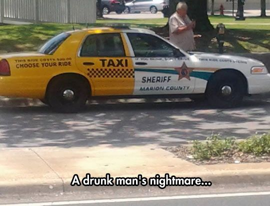 Taxi Driver By Day, Crime Fighter By Night