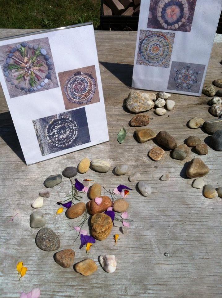 Earth Art at Garden Gate Child Development Center ≈≈