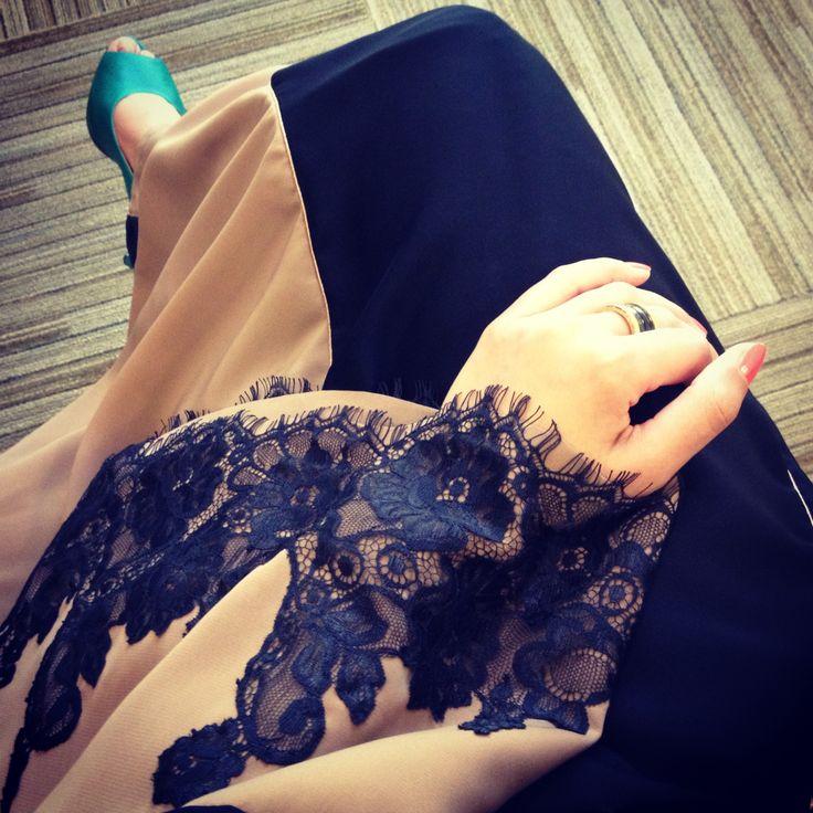 In Roselle #abaya