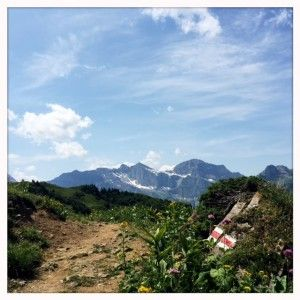 Walenpfad Wanderweg - easyish hike near Titlis