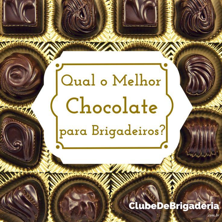 Quais os melhores tipos de chocolate para fazer brigadeiros?  Marcas são questões pessoais... Aqui nesse artigo, eu falo sobre os tipos de chocolate mesmo.  Vem ver: