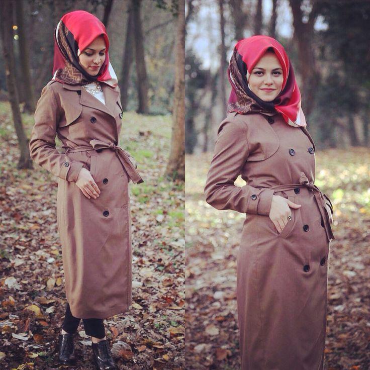 #hijab #hijabstyle #hijabfashion #style #modesty #modestfashion #ootd #trenchcoat #coat #fendi #feyzandesign