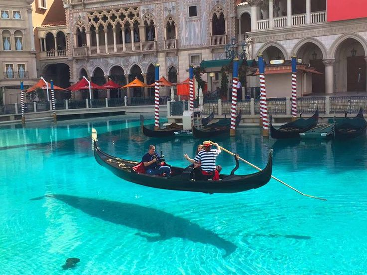 Things to do  in Vegas for $20. Float across the canals of The Venetian. Photo by Vegas.com.