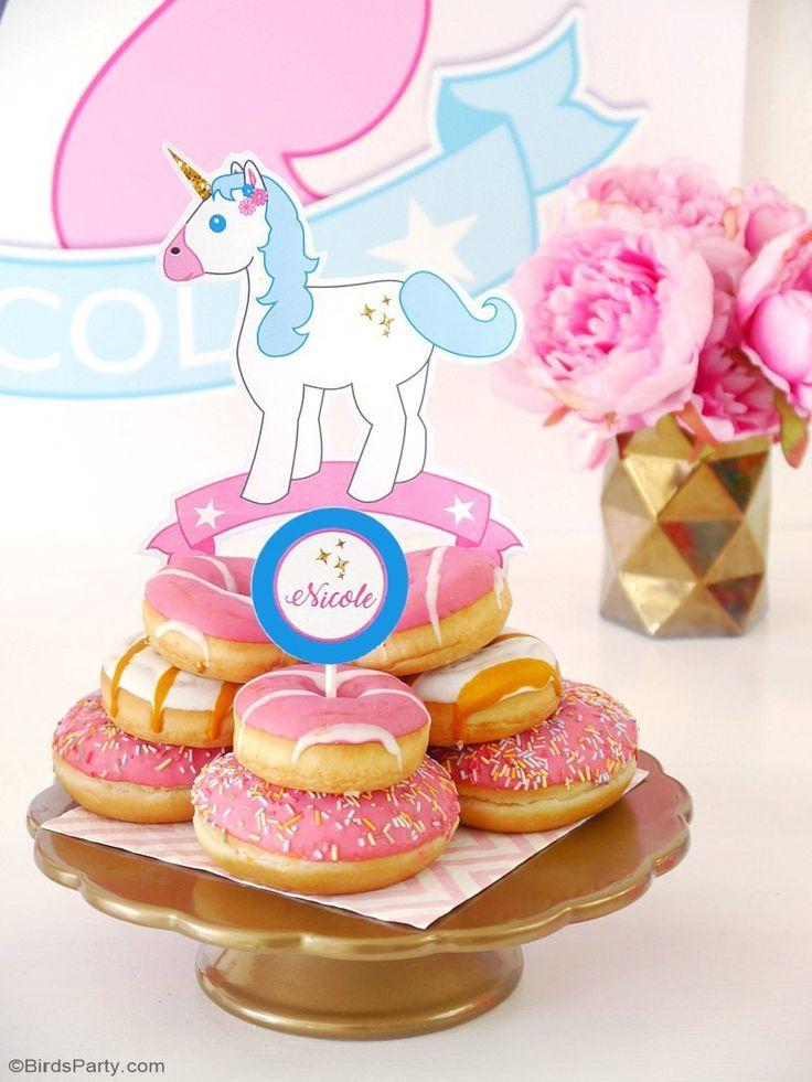 81 best Unicorn Party Ideas images on Pinterest Unicorn party